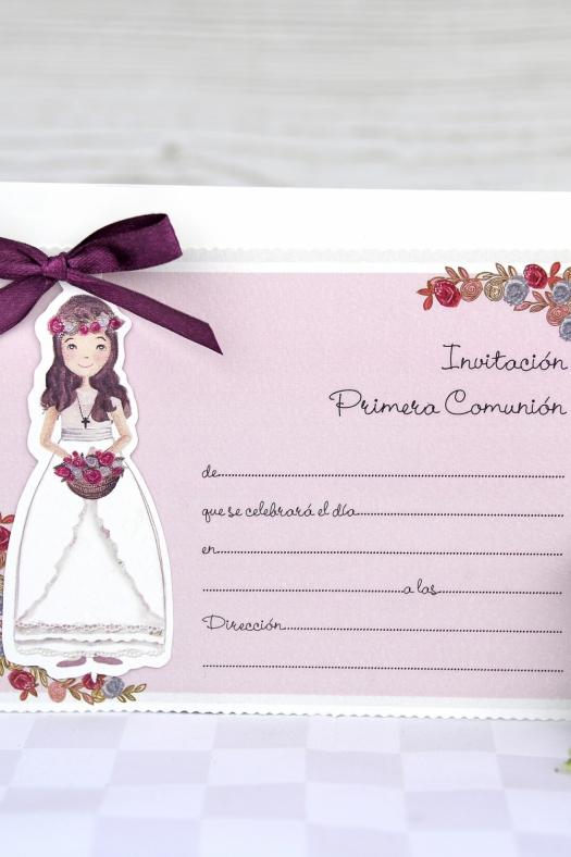 Bomboniere e partecipazioni INVITI COMUNIONE REBECCA 3