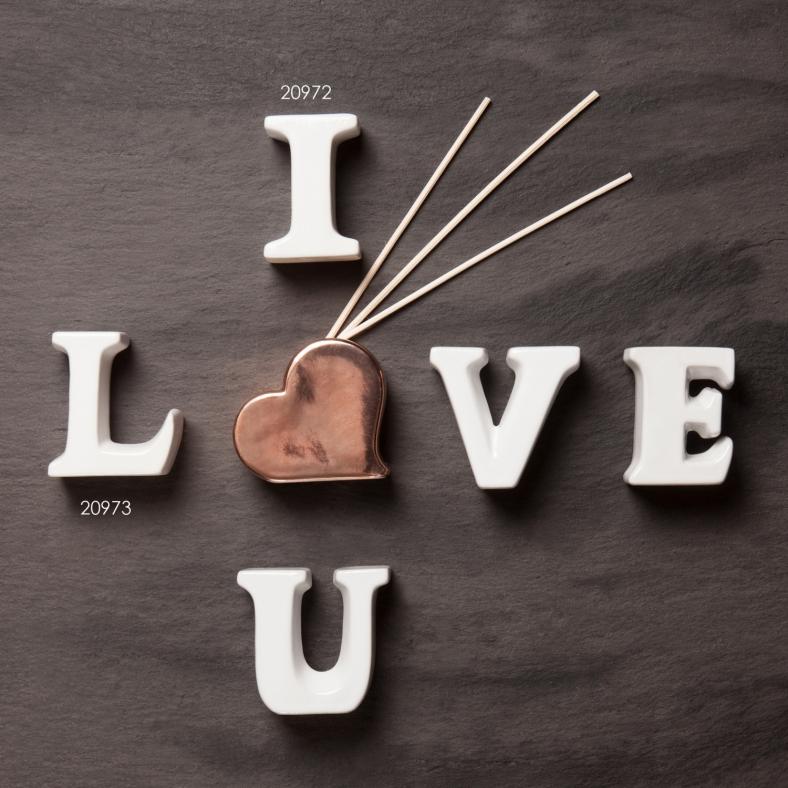 Bomboniere e partecipazioni CLARALUNA DIFFUSORI LOVE 1