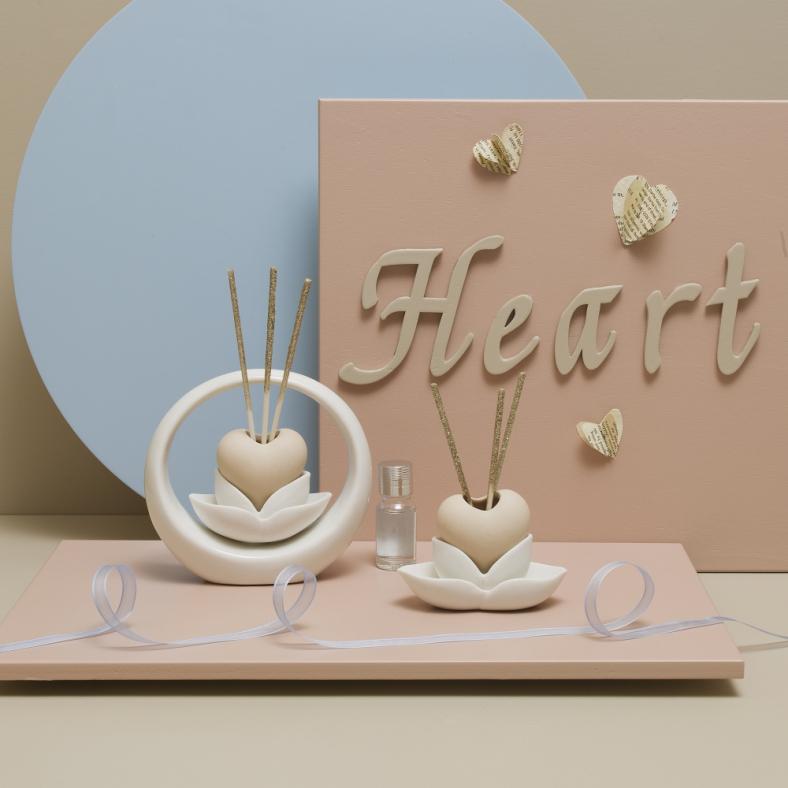 Bomboniere e partecipazioni CLARALUNA DIFFUSORI HEART LOVE 1