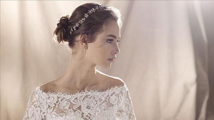abito da sposa crema